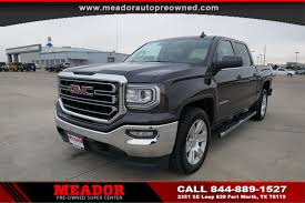 100 Gmc Super Truck PreOwned 2016 GMC Sierra 1500 SLE Crew Cab Pickup In Fort Worth