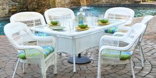 Portside 7pc Dining Set Coastal White 2