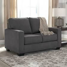 Levon Charcoal Sofa And Loveseat by Living Room Ashley Furniture Levon Charcoal Queen Sofa Sleeper