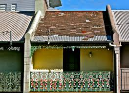 100 Sydney Terrace House D Inner City Photo Page Everystockphoto