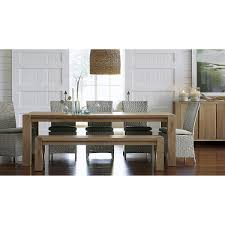 Crate And Barrel Dining Room Chair Cushions by Captiva Seaside White Dining Chair And Cushion Crate And Barrel