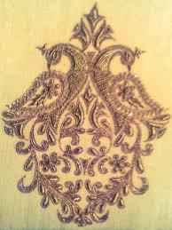 Saree Embroidery Design Indian Designs Zardosi Hand Work Motifs Blouse Patterns
