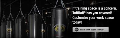 Everlast Heavy Bag Ceiling Mount by Tuffrail Com Heavy Bag Mounting Application And Cargo Management