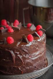 Torte Tuesday Chocolate Raspberry Cake Order in the Kitchen