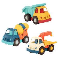 100 Trucks For Toddlers Amazoncom Wonder Wheels By Battat Dump Tow Cement Truck
