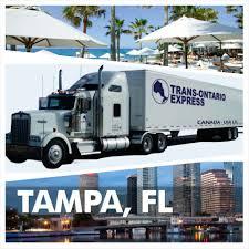 Toronto To Tampai FL To Toronto LTL Freight