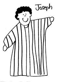 Josephs Coat Of Many Colors Coloring Page
