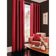 Faux Silk Eyelet Curtains by Faux Silk Fully Lined Eyelet Curtain 90