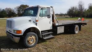 1997 International 4700 Rollback Truck | Item DA1441 | SOLD!... 116th Big Farm Peterbilt Rollback With John Deere 4020 Tractor Freightliner M2 Century Flat Bed 2 Car Tow Truck Wheel Services Towing Evidentiary Impounded Vehicles 1999 Intertional 4900 For Sale Auction Or Lease Used 2008 Lvo Vnl Rollback Truck For Sale In Ms 6375 1997 Intertional 4700 Rollback Truck Item Da1441 Sold 1991 Peterbilt 377 Tow 2003 7600 6829 2009 386 6919 Ford F550 For Sale Noreserve Internet Auction 2013 Hino 258 172605 Miles Spokane