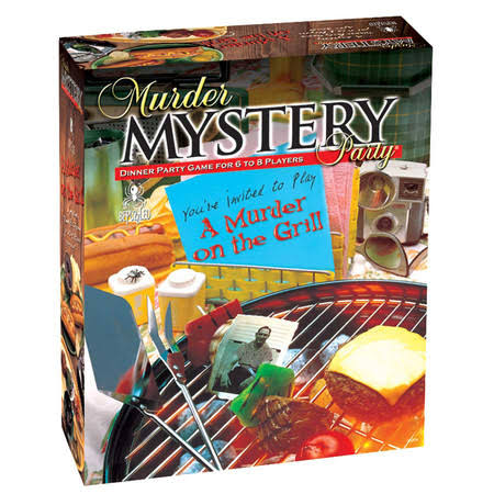 Murder on the Grill Murder Mystery Dinner Party Game