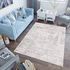 tapiso lotus teppich kurzflor creme beige hellbraun modern design wohnzimmer schlafzimmer loop cut 3d optik ökotex 120 x 170 cm