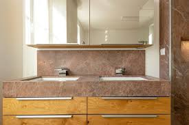 neu badezimmer aus naturstein brown chocloate wischmann