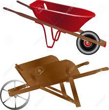 Wood clipart wheelbarrow 6