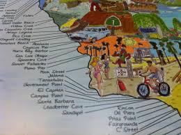 Surftripmap Southern California The Hand Drawn Surf Spot World Map