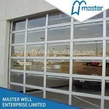 Polycarbonate Overhead Door glass Garage Door Buy Polycarbonate