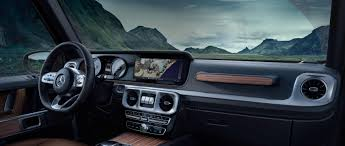 The new Mercedes Benz G Class The interior design