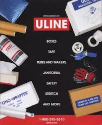 Cover Of Uline Catalog