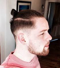 Long Chin Curtain Beard by Ponytail Hairstyle Beard Looks Suiting The Ponytail Hairstyle