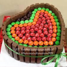 Cake Decoration Ideas With Gems by Diy Birthday Cakes Using Kit Kats Chocolate Bars Crafty Morning