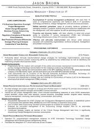 Technology Resume Samples Chief Officer Example Information 2017