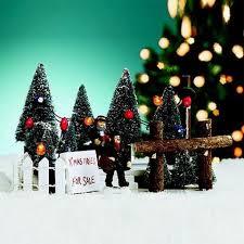 St Nicholas Square Village TREES FOR SALE Christmas