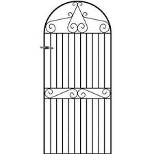 Tall Metal Garden Gates