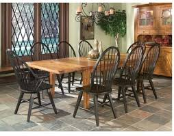 Rustic Traditions Dining Room Furniture Black Windsor Arm Chair
