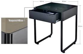 lian li dk q1hx aluminium desk chassis black