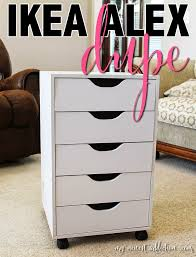 For The Love of Beauty IKEA Alex Drawer Dupe