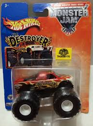 100 Destroyer Monster Truck TAS032312 2013 Mattel Hot Wheels Jam The Die