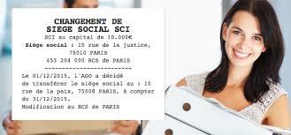 transfert de si鑒e social sci transfert de si鑒e social sci 58 images a giugno c 39 礙 la