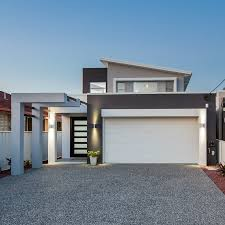 100 Block House Design Narrow Builders Brisbane Antech Constructions
