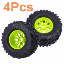 100 Off Road Truck Wheels 4x RC 170x85mm 17mm Hex Tires Wheel Rims For 18 Monster
