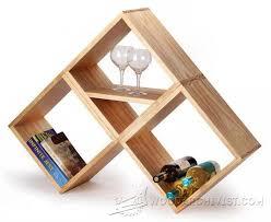 bookshelf and wine rack plan u2022 woodarchivist