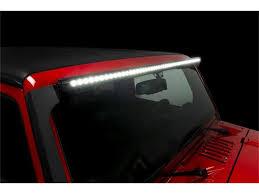 Putco Luminix LED Light Bar Jeep Roof Bracket - 50