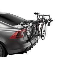 porte vélos de coffre suspendu thule raceway 992 pour 3 vélos