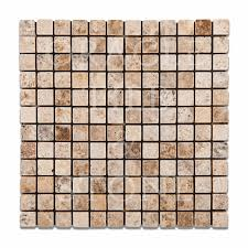Oracle Tile And Stone Marble by Andean Cream Travertine 1 X 1 Mosaic Tile Oracle Tile U0026 Stone