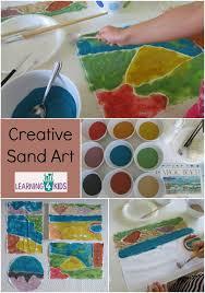 Creative Sand Art Activity