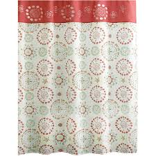 Lush Decor Belle Curtains by Darla Ivory Shower Curtain Walmart Com