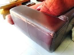 réparer un canapé en cuir reparer canape simili cuir raparation canapa en nubuck sofolk