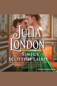 Sinful Scottish Laird By Julia London And Derek Perkins