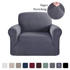 Fitted Slip Cover For Couch Chair, Black 1 Piece Durable ... Sure Fit Lodge Recliner Cover Tartan Plaid Black Check Deconovo Velvet Plush Strapless Sofa Slipcover Modern Solid Color Stretch Chair Kashi Home Jersey 4 Colors Bedroom Astonishing Wing For Living Room Gorgeous Lazy Boy With Creative Preserve The Look Of Your Favorite Tikami Covers With Remote Pocket Oversized Spandex Antislip Slipcovers Fniture Protectorblack Material Manual And Armchair Image Dfs Slounger Deals Sets Seater Likable Improvement Set Best Hinreisend Leather Small Recling Faux Ottoman Swivel