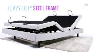 the rize avante adjustable bed base youtube
