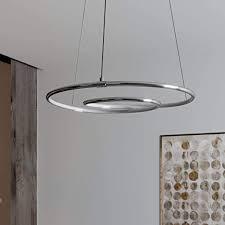lindby led pendelleuchte dimmbar modern in chrom aus aluminium ua für wohnzimmer esszimmer a inkl leuchtmittel hängeleuchte