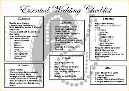 4 Simple Wedding Checklist
