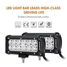 "Amazon Auxbeam 7"" LED Light Bar 36W CREE Driving Light"