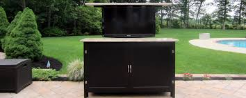 Outdoor Television Lift Cabinets