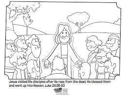 Jesus Is Baptized Popular Bible Coloring Pages Jesus