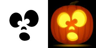 Cute Pumpkins Stencils by Cute Pumpkin Face Templates