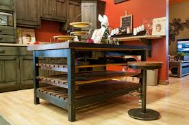 Industrial Counter and Stool